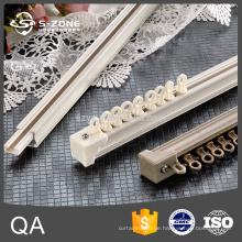 Leichte Aluminium-flexible Vorhangschiene Draperie Hardware