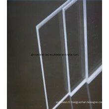 Feuille de plastique acrylique feuille acrylique