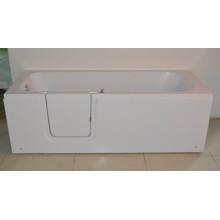 Горячая ванна с двойным сливом