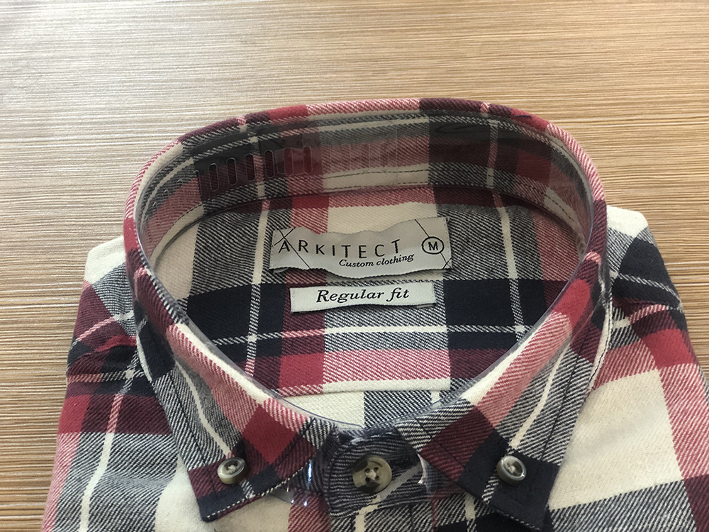 Male flannel shirt