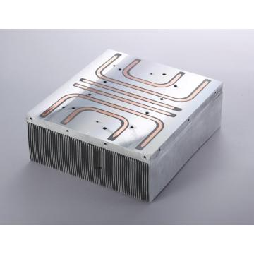 Copper Heatpipe Soldering Skiving CNC Heatsink
