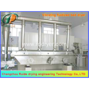 sugar powder vibrating Fluidized Bed Drying machine