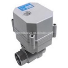 3 провода 2 способ моторизованный клапан DC12/24V поток Электрический клапан