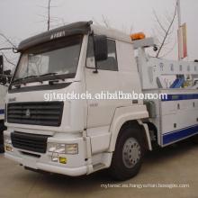 Carro del camión de auxilio de Sinotruk HOWO / vehículos del remolque de la carretera / camión de auxilio / grúa