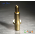 High Quality Gold Plating Brass Spring Loaded Pogo Pin