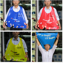 Promotional Personalized PE Sport Wave Cape