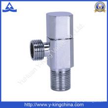 Válvula de ángulo de latón de la fábrica para el tocador / el cuarto de baño (YD-5029)