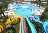 swimming pool water slide customized racer water slide For