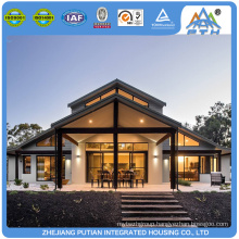 Economical light steel prefabricated modern villa