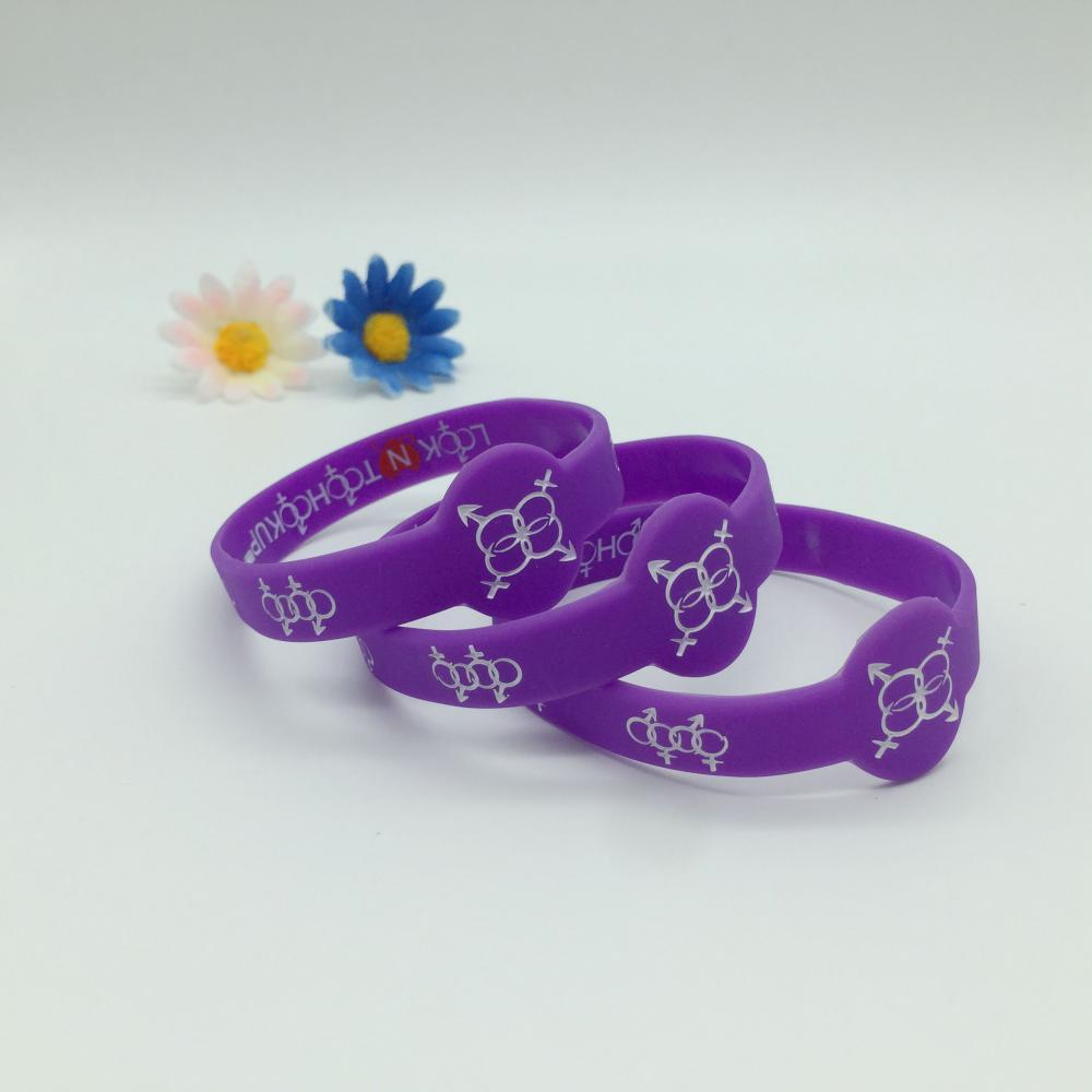 Watch shape Silicone Bracelets