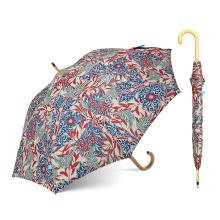 Paraguas hermoso de lujo de la flor del tamaño estándar de Topumbrella para la promoción