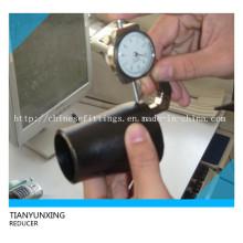 Réducteurs en acier inoxydable concentré sans soudure à butte