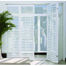 New pattern customizable aluminum louvered bifold doors