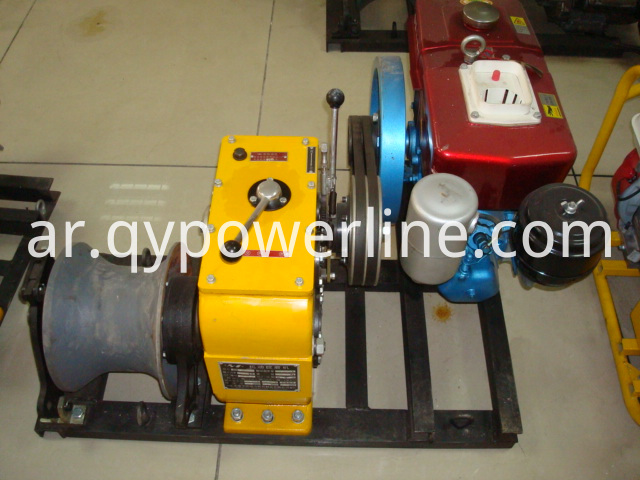 Heavy Duty Cable Pulling Diesel Winch 5T