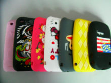 Slip Resistant  Colorful Cell Phone Silicone Cases With Personalized Logo
