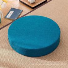 relleno de espuma de memoria yoga meditación tatami almohada de asiento