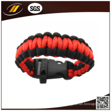 Trendy Paracord Bracelet for Outdoor Activity