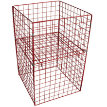 Nice selling heavy duty wire storage cage, industrial storage cage, containerized water treatment plant