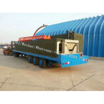 NO-GIRDER ARCH ROOF K SPAN BUILDING MACHINE