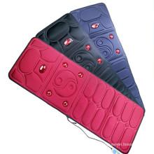 China Promotional Electric Vibrating Infrared Back Massage Cushion Vibration Body Massager Mat