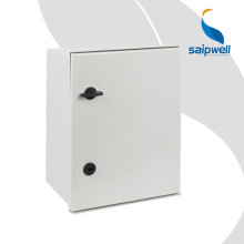 SAIP/SAIPWELL Hot Sale Waterproof Enclosure SMC Fiberglass Box with Steel Backplate