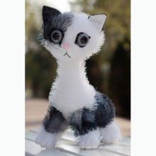 2015 juguete de felpa de gato realista