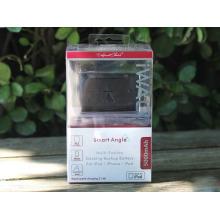 Caixa de empacotamento plástica do banco do poder móvel com janela desobstruída (caixa de dobramento do PVC)