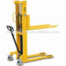 Empilhador manual / Empilhador manual / elevador Empilhador hidráulico com certificado CE e ISO Serviços pós-venda