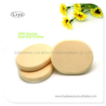 Oval Makeup Sponge Cosmetic Latex Sponge Makeup Puff