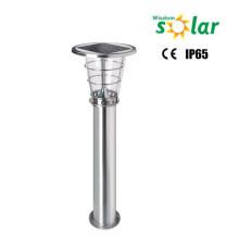 Lámparas para iluminación de jardín de césped al aire libre led de luz de alta acero inoxidable solar LED césped ROHS, IP65