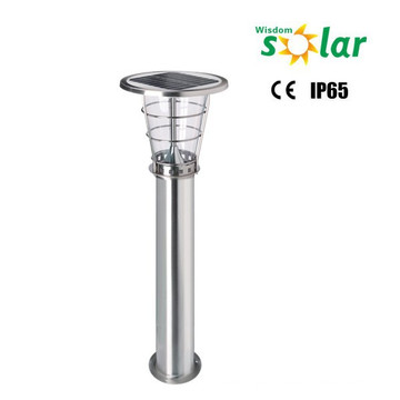 Outdoor lawn lamps for garden lighting led high lumen stainless steel solar LED lawn lights ROHS, IP65