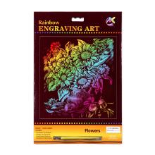 Pintura em tela papel artesanato criativas raspadinhas