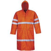 Hivis Protective Rainwear Reflective Coat