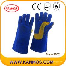 Подлинная натуральной кожи промышленной безопасности сварки рабочие перчатки (11111)
