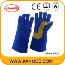 Подлинная натуральная кожа Промышленная безопасность сварочные работы перчатки (11111)