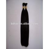 virgin bulk human hair natural color without short hair