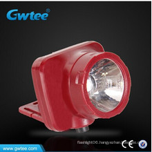 Rechargeable lithium battery led headlight