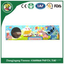 Rollo del papel de aluminio de la peluquería del precio bajo de la alta calidad