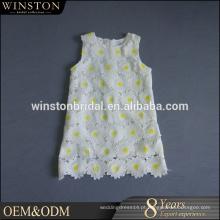 Hot Sell Good Quality 2016 New Style o mais lindo vestido de menina de flor de crianças