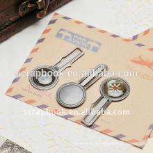 Büroklammern Metall Metall-clips
