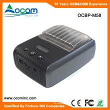 Imprimante thermique portative d'étiquette de code barres de Bluetooth d'OCBP-M58 58mm mini Bluetooth