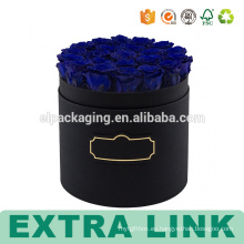 Caja de flores impresa de papel de impresión de pantalla