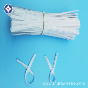 Single Wire Plastic Nose Wire For Face Mask