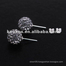 NEW TRESOR PARIS Crystal Ball Shamballa Earring