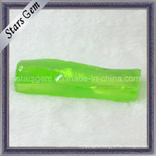 High Quality Apple Green Cubic Zirconia Raw Material