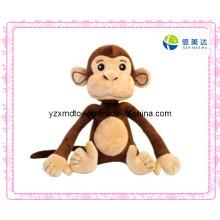 Longo braço bonito macaco brinquedo de pelúcia