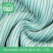 Tecido de colchão de nylon de poliéster de fábrica de veludo de algodão