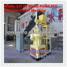 China Biomass Pellet Making Machine