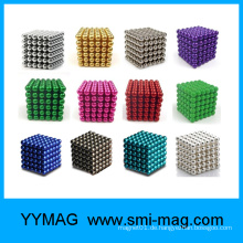 Online-Verkauf 3mm 5mm Farbe magnetischen Kugeln