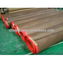 Cinto de malha de teflon para secadores de impressão de tela